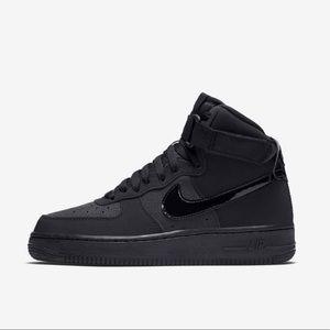 Brand new black Nike Air Force 1